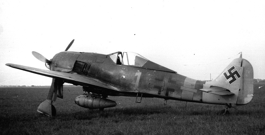 FW 190 at Wunstorf, Germany, May 1945